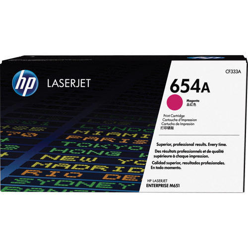 HP 654A Magenta LaserJet Toner Cartridge
