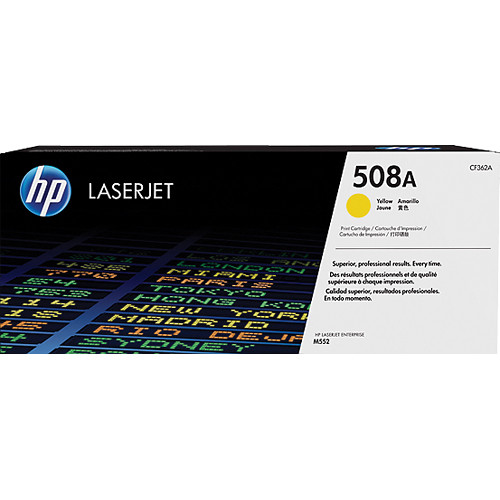 HP 508A Yellow Toner Cartridge