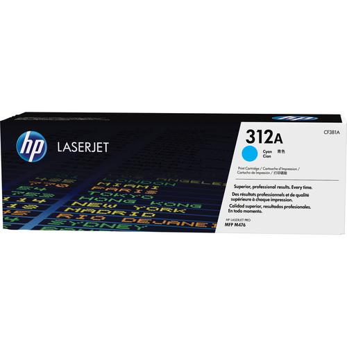 HP 312A Cyan LaserJet Toner Cartridge