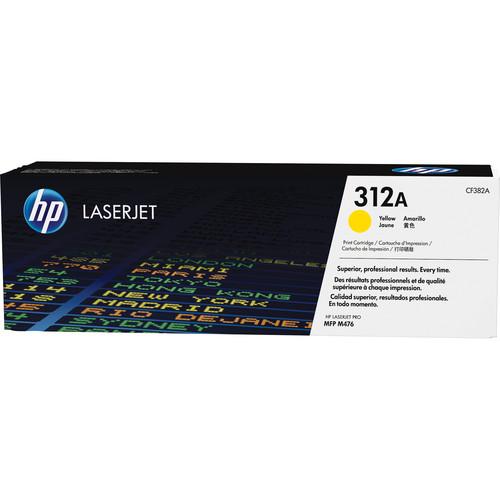 HP 312A Yellow LaserJet Toner Cartridge