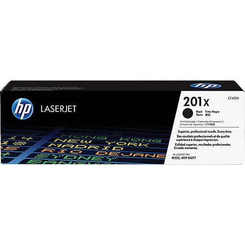 HP 201X High Yield Black Toner Cartridge