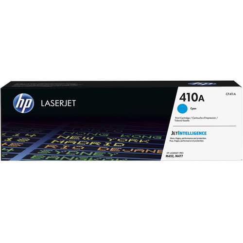 HP 410A Cyan LaserJet Toner Cartridge