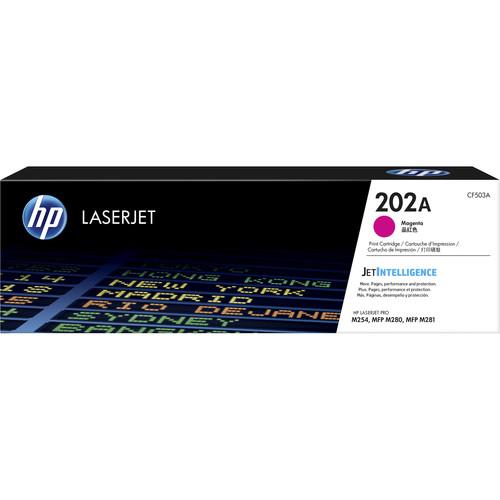 HP 202A LaserJet Toner Cartridge (Magenta)