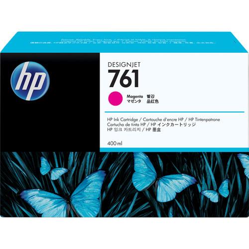 HP 761 Magenta Designjet Ink Cartridge (Dye, 400 ml)