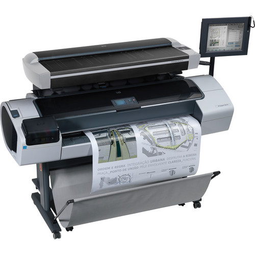 "HP Designjet T1200 HD 44.0"" Multifunction Inkjet Printer"