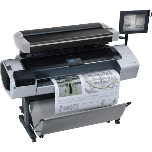 """HP Designjet T1200 HD 44.0"""" Multifunction Inkjet Printer"""