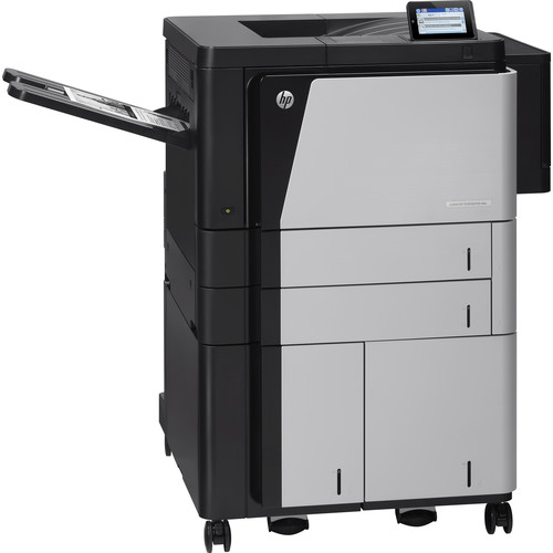 HP LaserJet Enterprise M806x+ Black and White Laser Printer