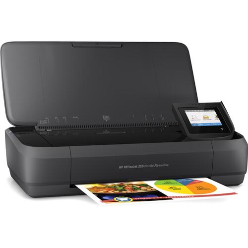 HP OfficeJet 250 Mobile All-in-One Inkjet Printer