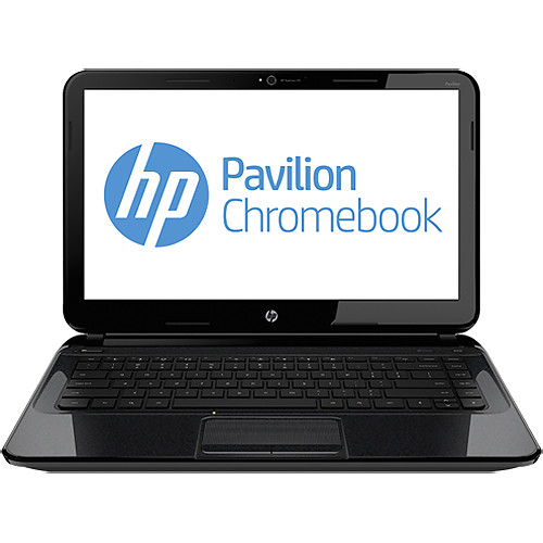"HP Pavilion 14-c010us 14"" Chromebook Computer (Black)"