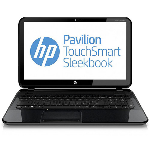 "HP Pavilion TouchSmart Sleekbook 15-b150us 15.6"" Multi-Touch Notebook Computer (Sparkling Black)"