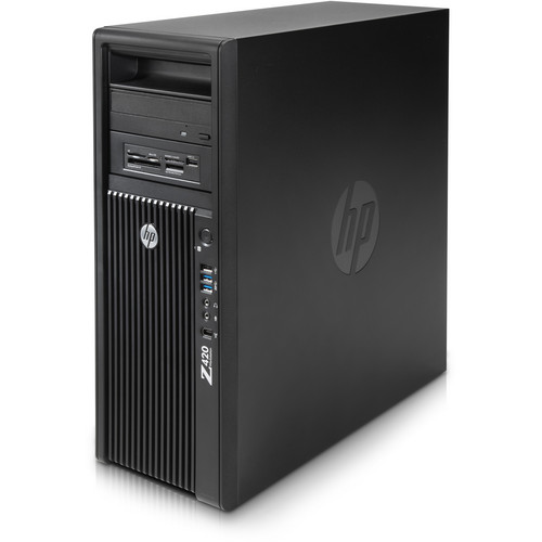 HP Z420 Series D3J37UT Workstation Computer
