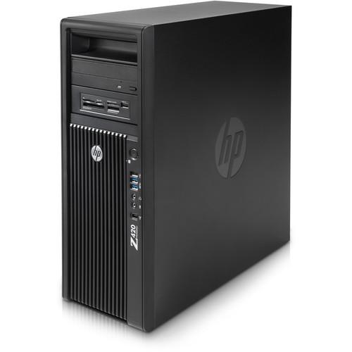 HP Z420 Series D3J38UT Convertible Mini-Tower Workstation