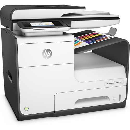 HP PageWide Pro 477dw Color Inkjet All-in-One Printer