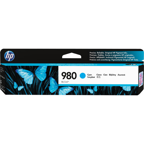 HP 980 Cyan Ink Cartridge