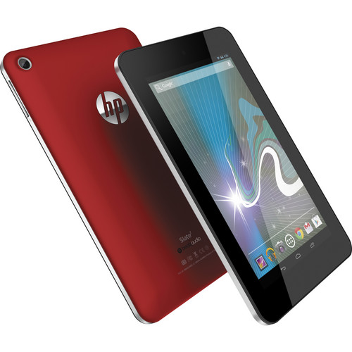 HP 8GB Slate 7 Tablet (Red)