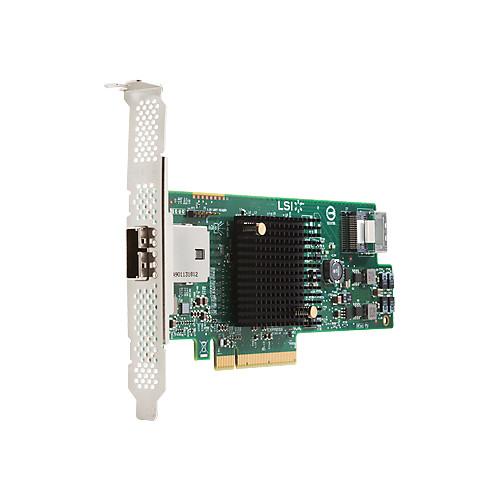 HP LSI 9217 8-Port 6 Gb/s SAS RAID Controller Card