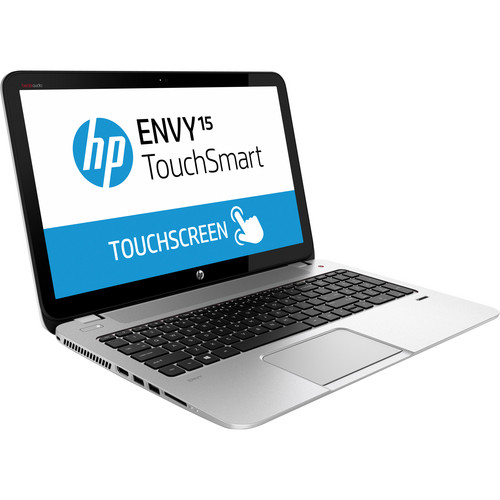 "HP ENVY TouchSmart 15-j150us 15.6"" Multi-Touch Notebook Computer (Natural Silver)"