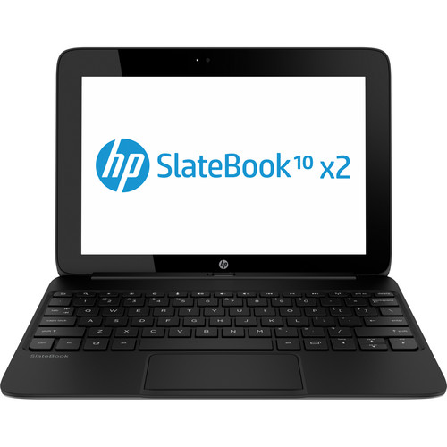 "HP 16GB SlateBook x2 10.1"" Tablet/Notebook Combo (Smoke Silver)"