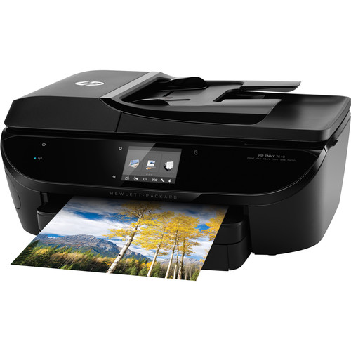 brand new hp envy 7640 wireless all in one inkjet photo. Black Bedroom Furniture Sets. Home Design Ideas