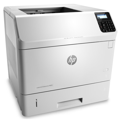 HP M605dn LaserJet Enterprise Monochrome Laser Printer