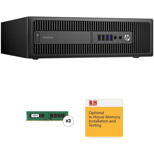 HP EliteDesk 800 G2 Small Form Factor B&H Custom Desktop Computer