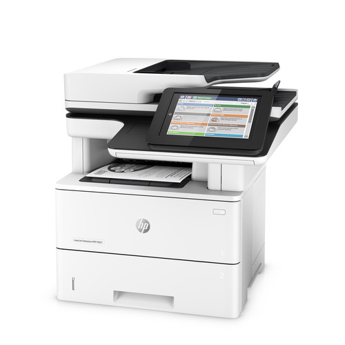 HP LaserJet Enterprise M527dn All-in-One Monochrome Laser Printer