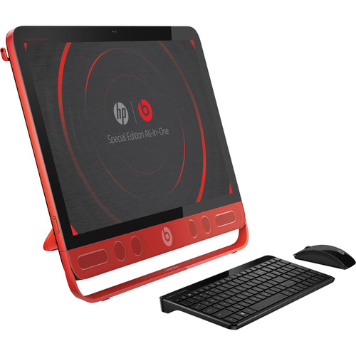 """HP Envy Beats Special Edition 23-n010 23"""" All-In-One Multi-Touch Desktop PC"""