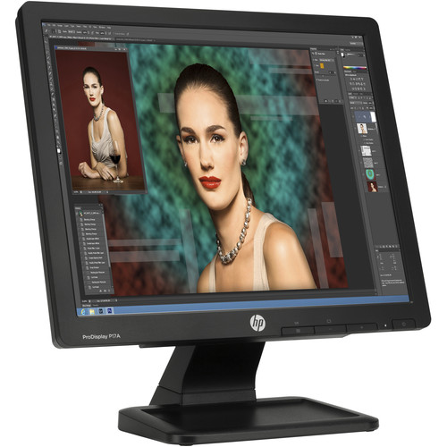 "HP P17A ProDisplay 17"" LED Backlit LCD Monitor (Smart Buy)"