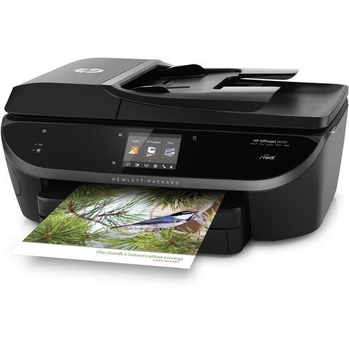 HP Officejet 8040 e-All-in-One Inkjet Printer