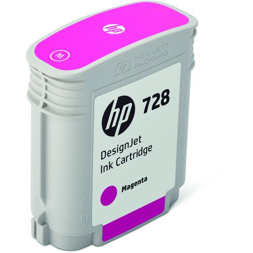 HP 728 Magenta DesignJet Ink Cartridge (40ml)