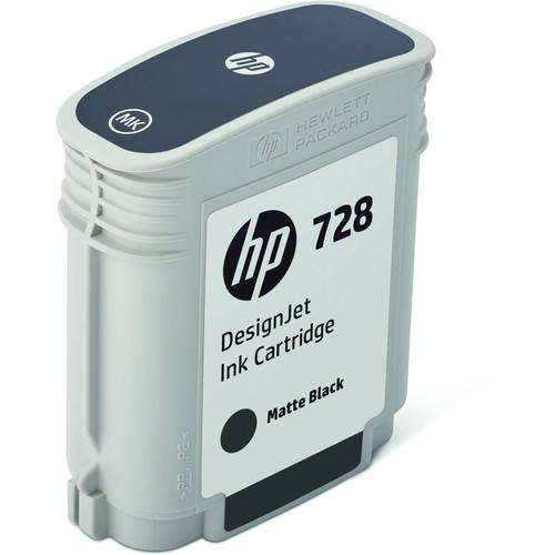 HP 728 Matte Black DesignJet Ink Cartridge (69ml)