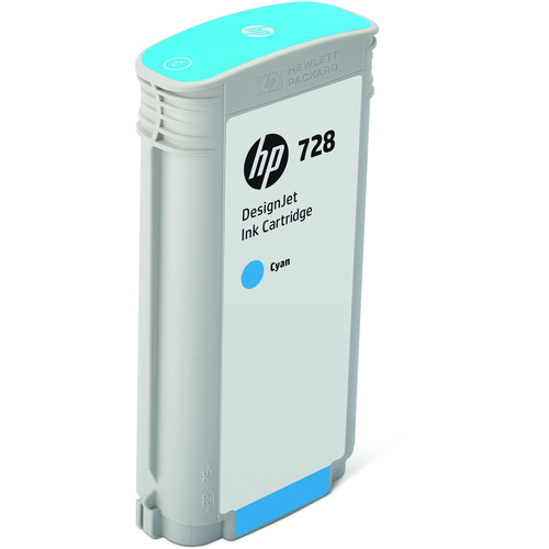 HP 728 Cyan DesignJet Ink Cartridge (130ml)