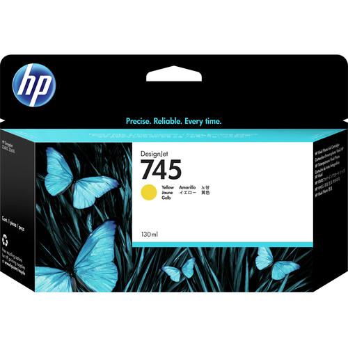 HP 745 DesignJet Yellow Ink Cartridge (130mL)
