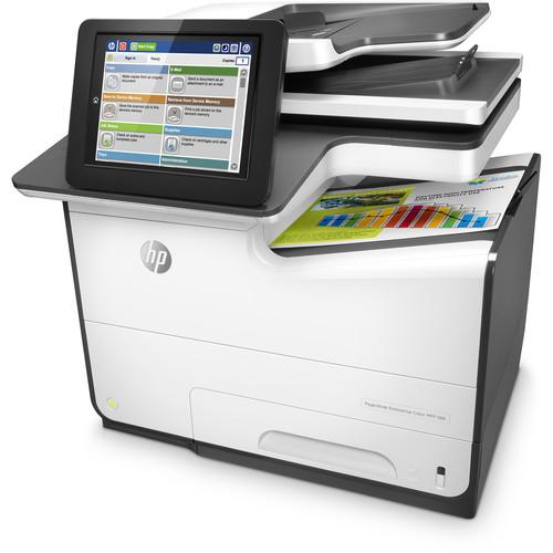 HP PageWide Enterprise Color MFP 586dn All-in-One Inkjet Printer