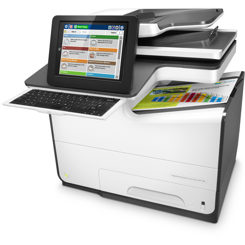 HP PageWide Enterprise Color Flow MFP 586z All-in-One Inkjet Printer
