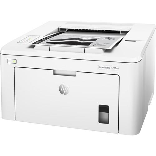 HP LaserJet Pro M203dw Monochrome Laser Printer