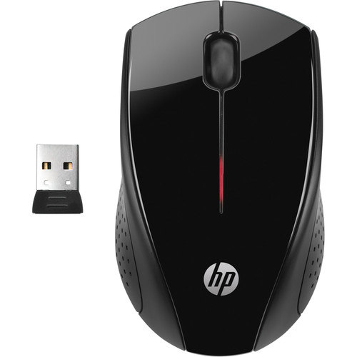 HP X3000 Wireless Mouse (Black)