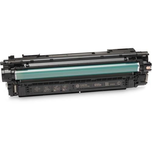 HP 655A LaserJet Enterprise Cyan Toner Cartridge