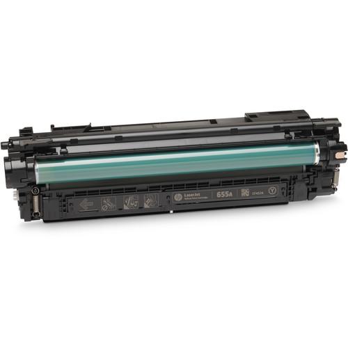 HP 655A LaserJet Enterprise Yellow Toner Cartridge