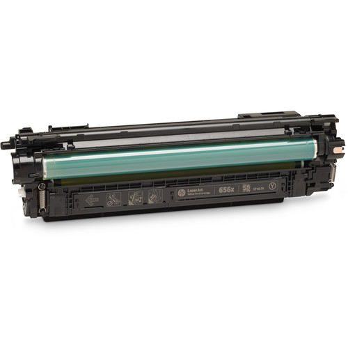 HP 656X High Yield LaserJet Enterprise Yellow Toner Cartridge