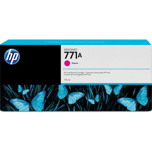 HP 771A DesignJet 775mL Magenta Ink Cartridge (3-Pack)