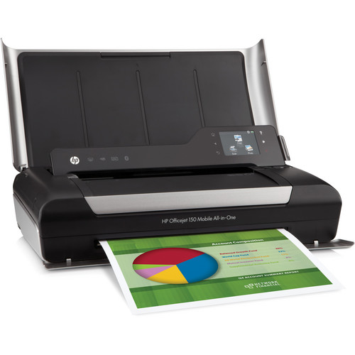 HP Officejet 150 Mobile Color All-in-One Inkjet Printer