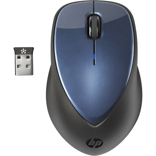 HP x4000 Wireless Mouse with Laser Sensor (Winter Blue)