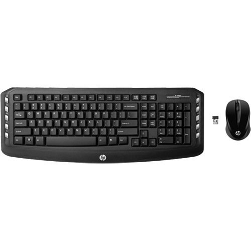 HP Wireless Classic Desktop Keyboard with Mouse