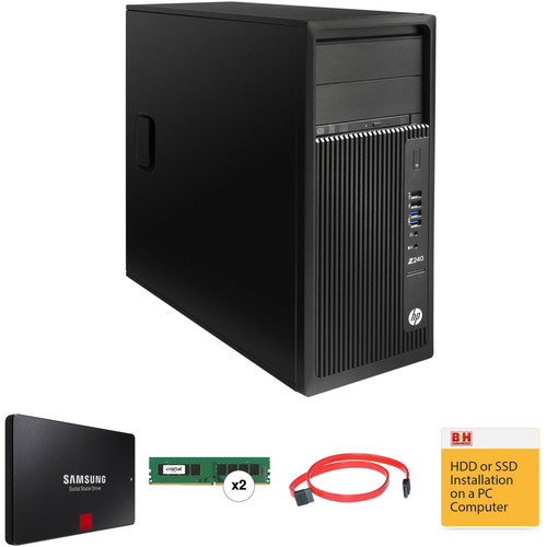 HP HP Z240 Series Tower B&H Custom Workstation