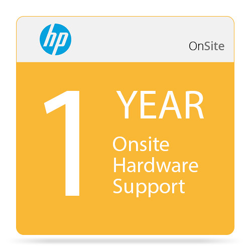 HP 1-Year Onsite Hardware Support