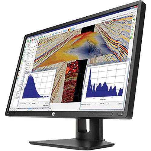 """HP Z24s 23.8"""" IPS LED Backlit IPS Monitor (Black, Smart Buy)"""