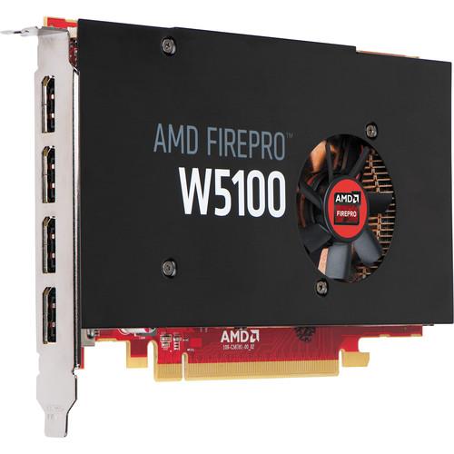 HP FirePro W5100 Graphics Card