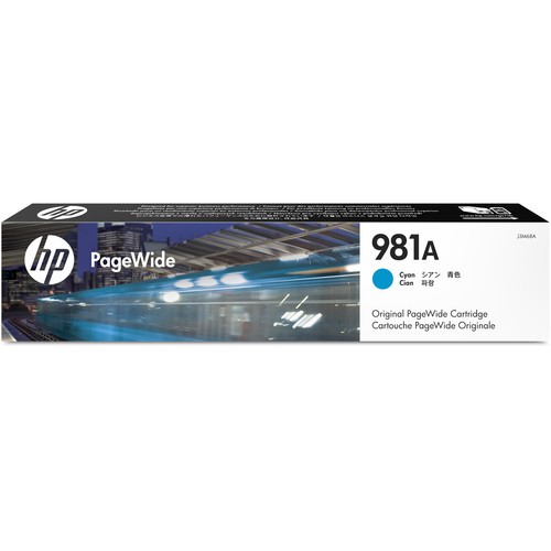 HP 981A Cyan PageWide Ink Cartridge