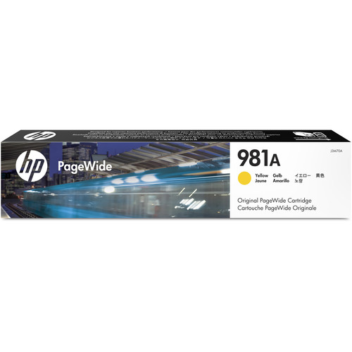 HP 981A Yellow PageWide Ink Cartridge